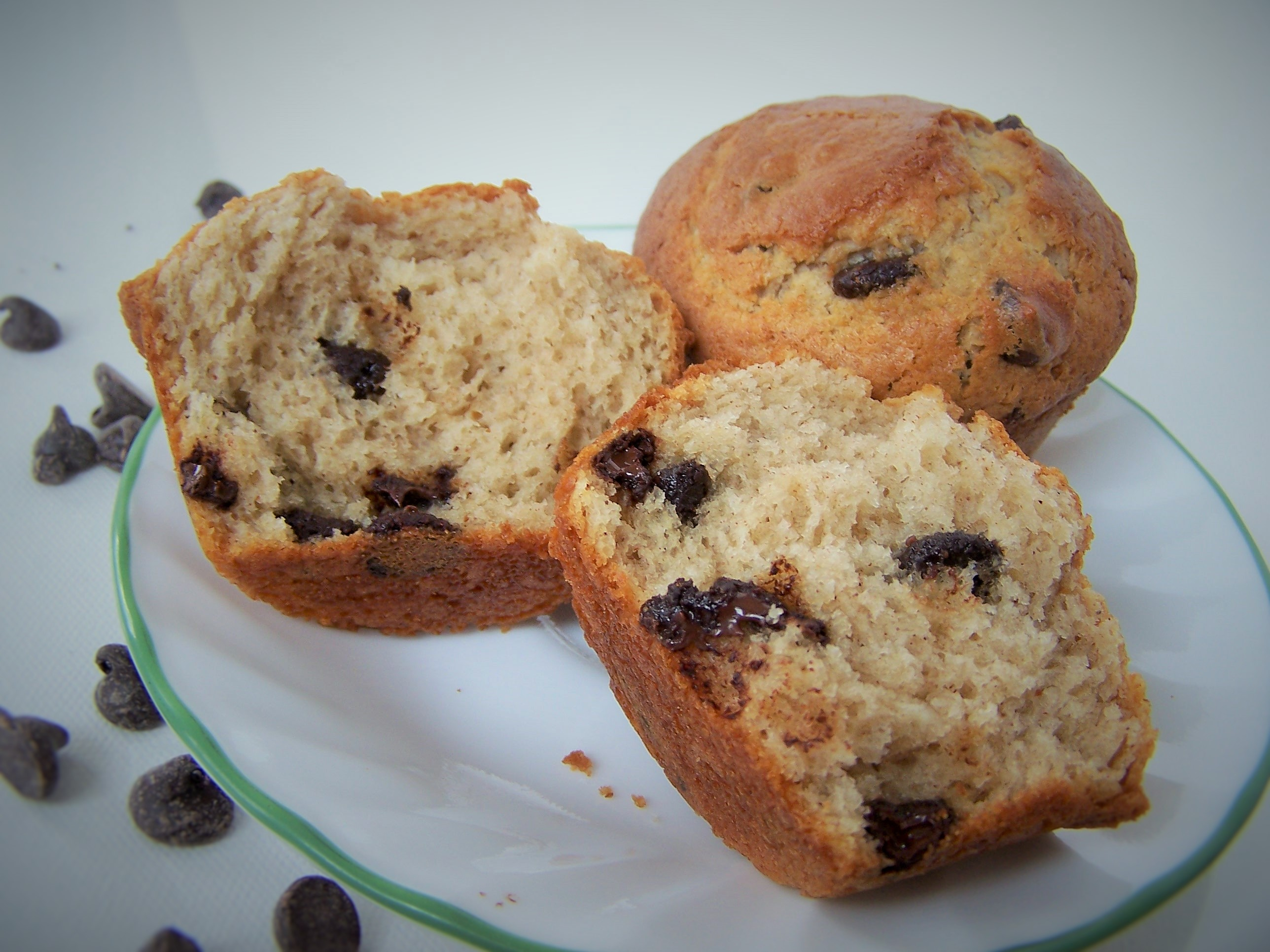 Bakery Style Chocolate Chip Muffins |