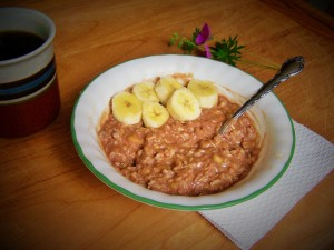 banana-chocolate-oatmeal