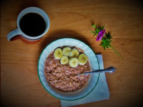 chocolate-banana-oatmeal