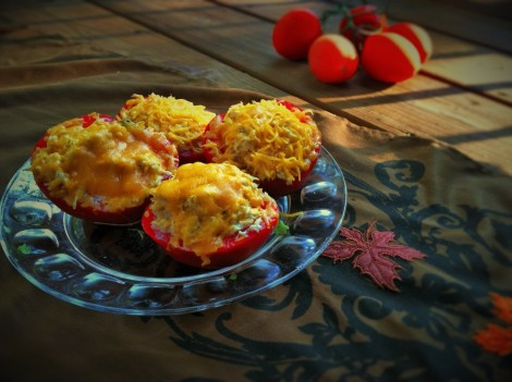 tomatoes-stuffed-with-chicken-salad